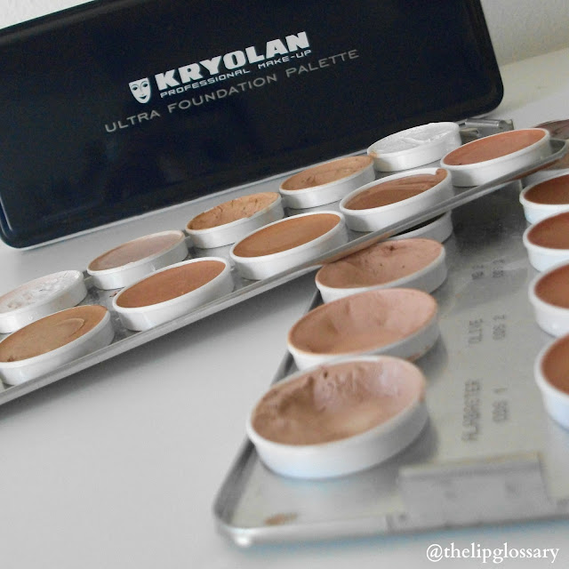 Kryolan Ultra Foundation Swatch