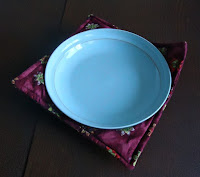 fabric bowl with bowl