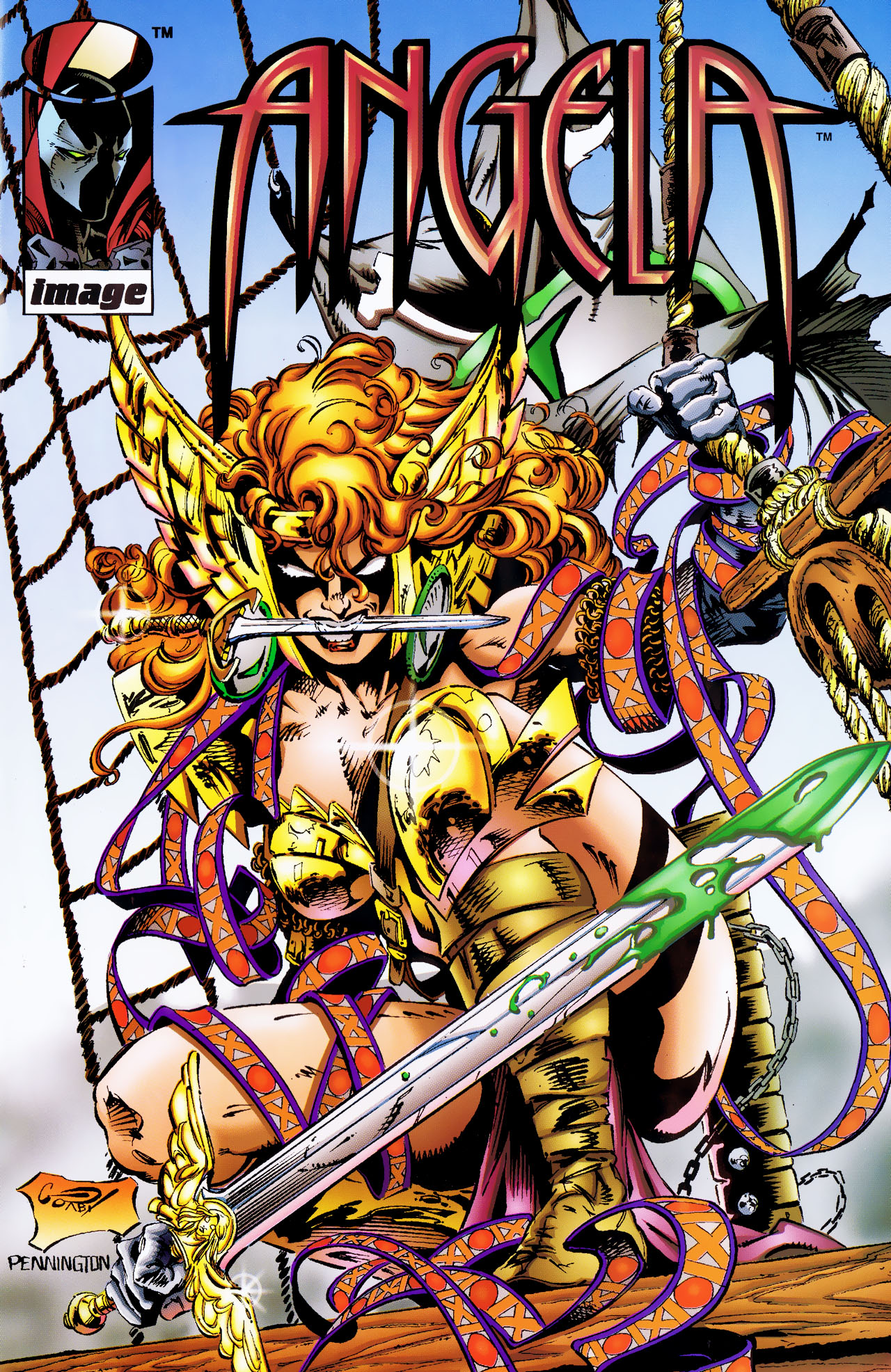 Read online Angela (1994) comic -  Issue #0 - 1
