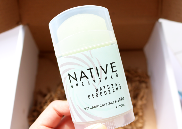 Native Unearthed Natural Deodorant