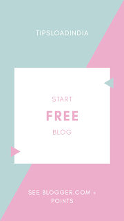 Create a new blog for free