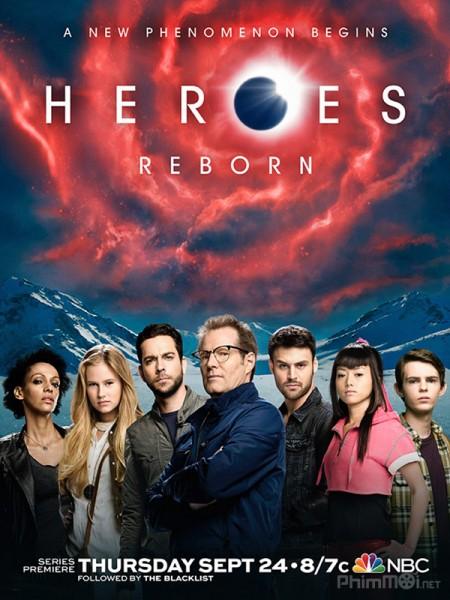 Những Người Hùng Tái Sinh - Heroes Reborn (2015) | Full HD VietSub