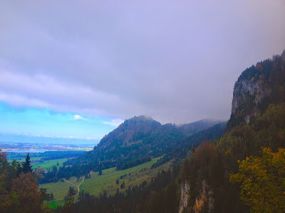 mountains in Fussen Germany