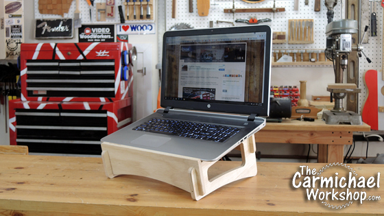 The Carmichael Workshop Laptop Stand