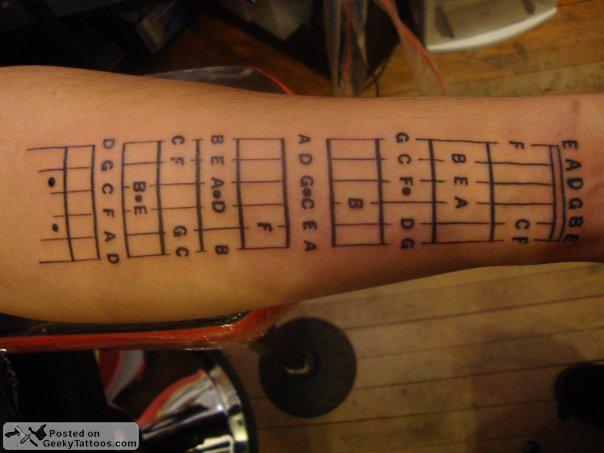 My Tattoo Designs Bass Guitar Tattoos