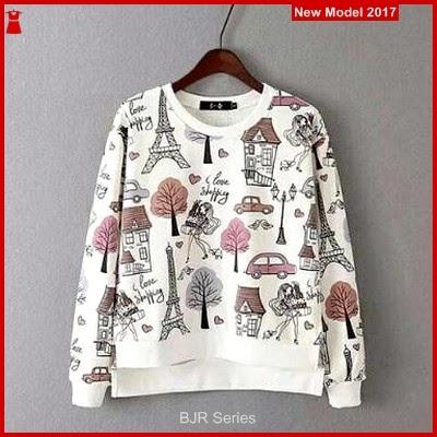 BJR134 E Sweater Paris Wanita Dewasa Murah Grosir