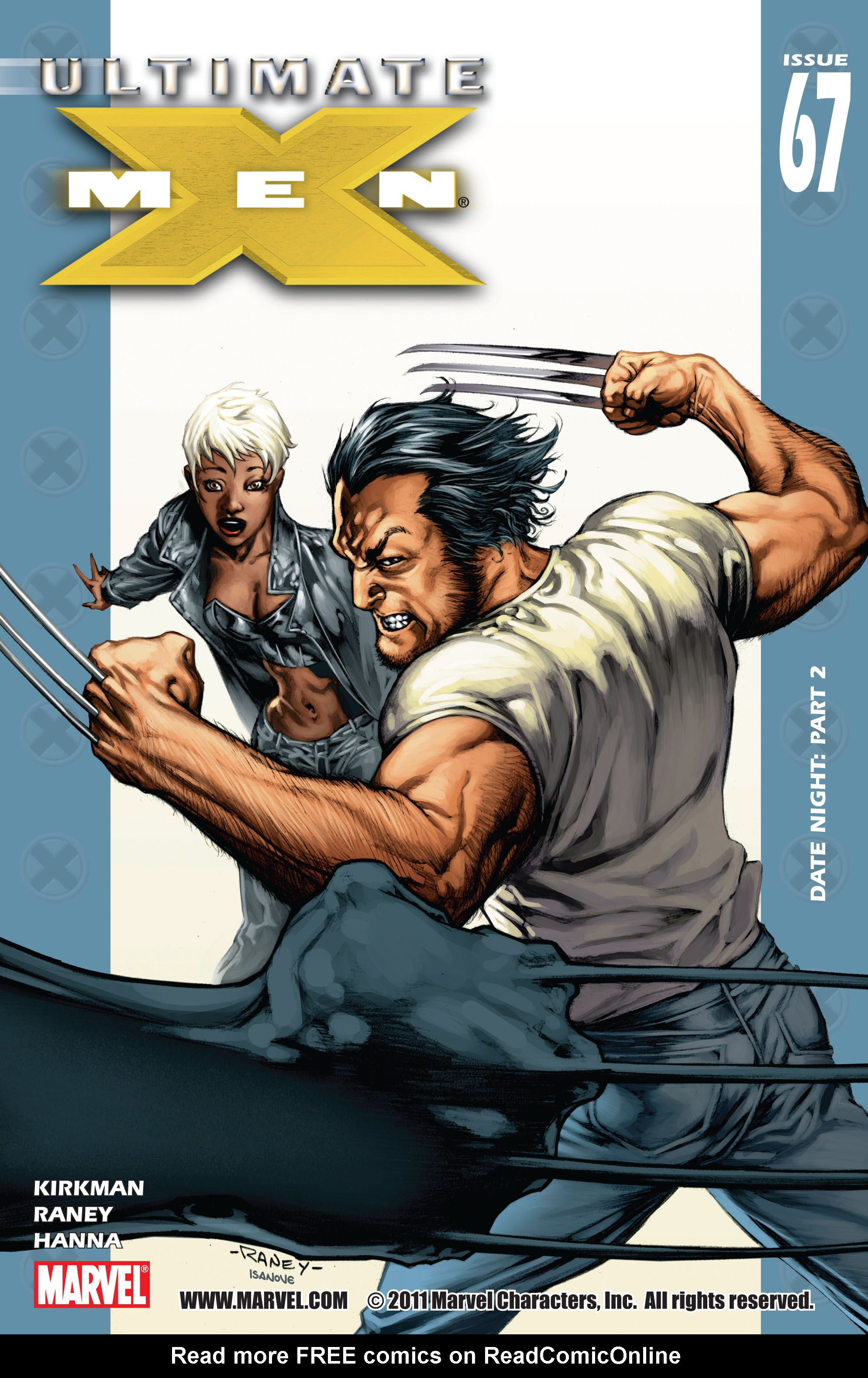 Read online Ultimate X-Men comic -  Issue #67 - 1