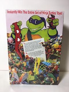 Teenage Mutant Ninja Turtles Cereal Bowls Box