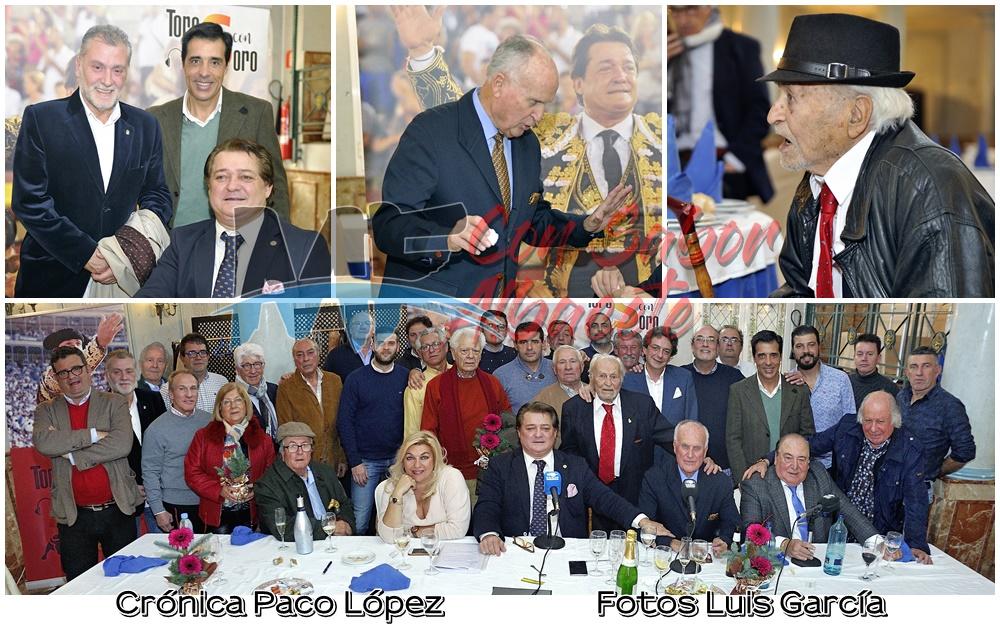 COMIDA DE NAVIDAD DE LOS PROFESIONALES TAURINOS DE ALBACETE (Con Álbum de Fotos)