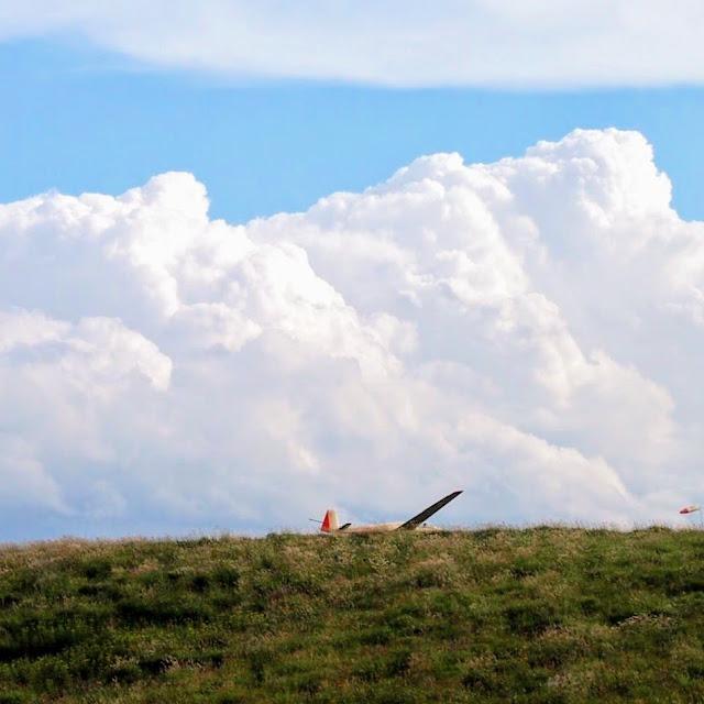 諏訪白樺湖小海線 霧ヶ峰高原 グライダー