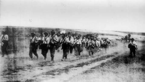 Romanian Guard Regiment near Odessa, 18 August 1941 worldwartwo.filminspector.com