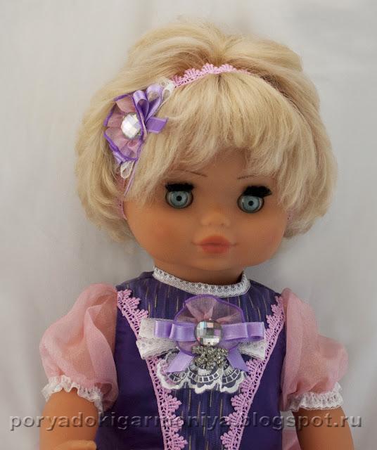 Обновление куклы, новый образ куклы, переделка