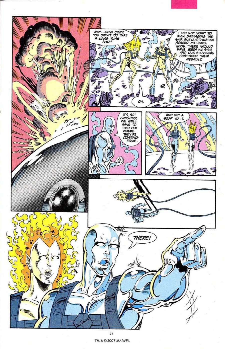 Read online Silver Surfer (1987) comic -  Issue #68 - 29