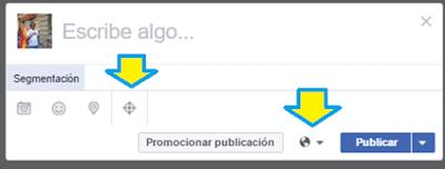 Facebook, Redes Sociales, Social Media, Público, Segmentos, Fan page,