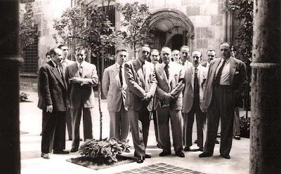 1951 - Pati dels Tarongers de la Generalitat de Catalunya