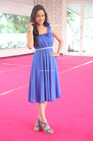 Divya Nandini stunning Beauty in blue Dress at Trendz Exhibition Launch ~  Celebrities Galleries 078.JPG