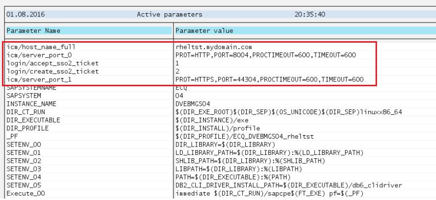 SSO configuration between SAP Portal 7 3 and ECC 6 0 Ehp 6