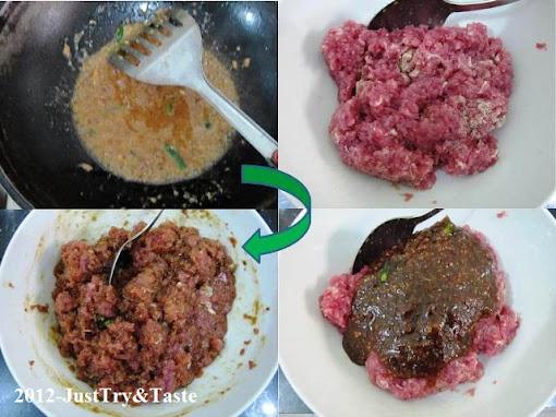 Resep Sate Daging Cincang
