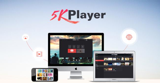 حمل الان برنامج 5KPlayer لتنزيل الفديوهات والتشغيل مجانا