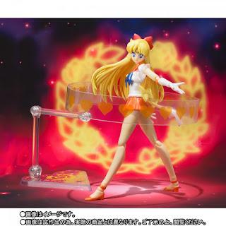 """S.H.Figuarts Super Sailor Venus de """"Sailor Moon"""" - Tamashii Nations"""