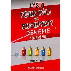 Palme LYS-3 Türk Dili ve Edebiyatı Deneme Sınavları