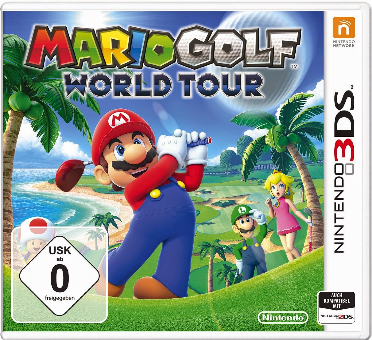 3DS Mario Golf World Tour Cover