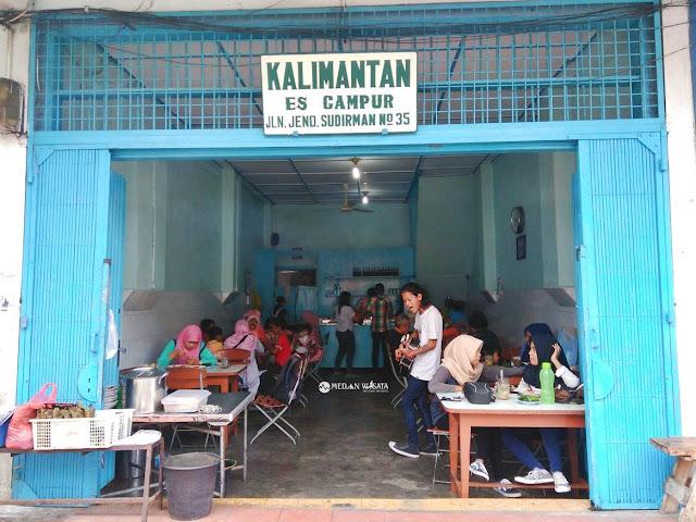 Segarnya Es Campur Kalimantan Binjai