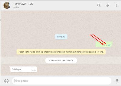 2 Cara Mengirim Pesan Teks Kosong Di WA Tanpa Aplikasi