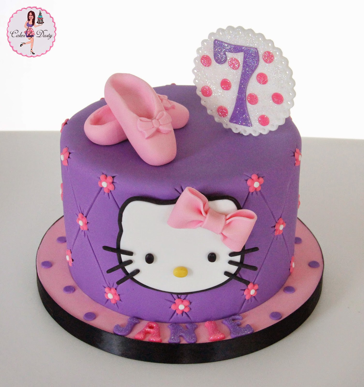 Cakes By Dusty Janies Hello Kitty Cake