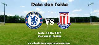 Data dan Fakta Fantasy Premier League Chelsea vs Stoke City Fantasi Manager Indonesia