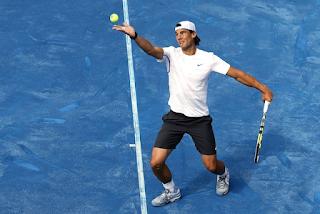 O saibro azul no Tenis