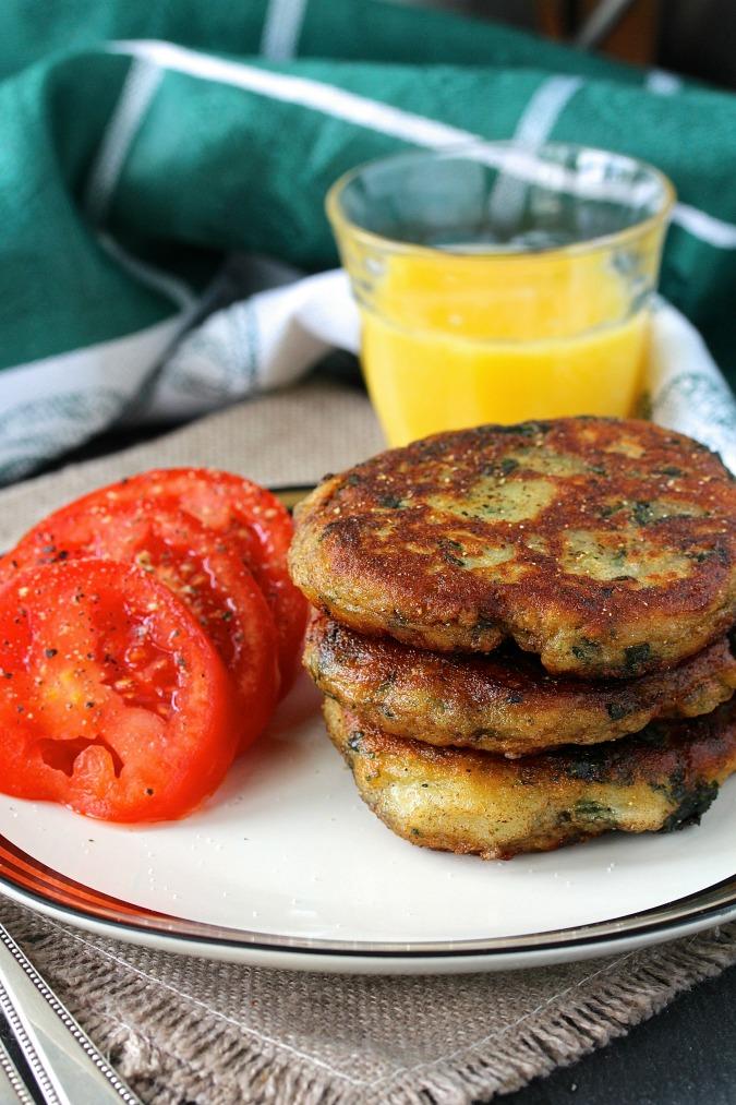 Colcannon Cakes, delicious Irish Potato Pancakes
