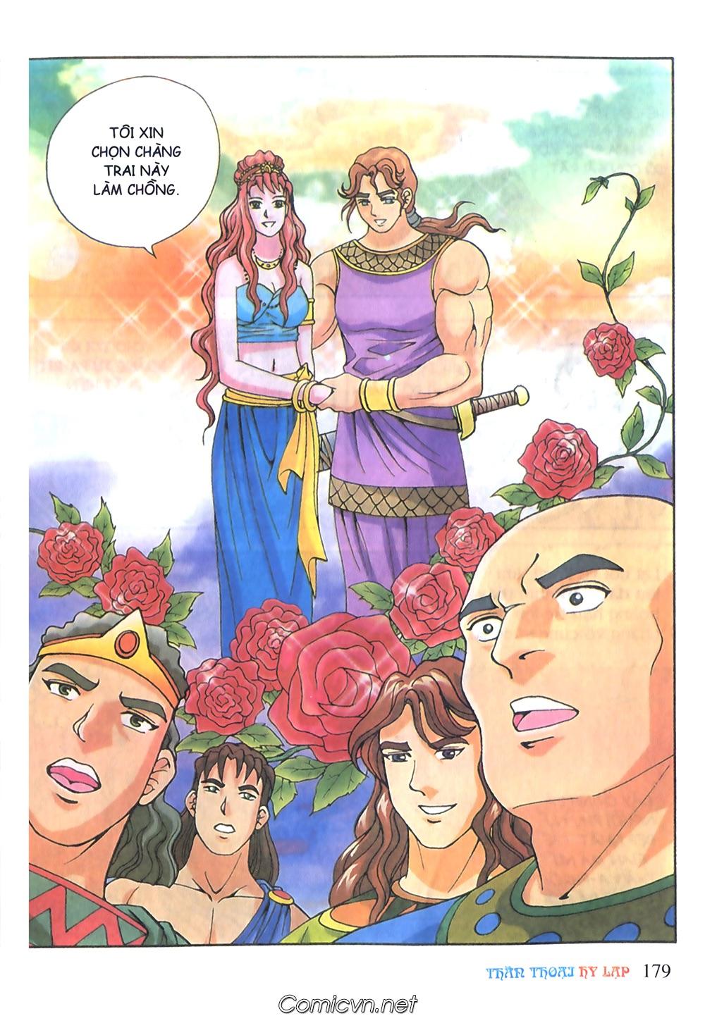 Thần Thoại Hy Lạp Màu - Chapter 51: Nàng công chúa Helen - Pic 18