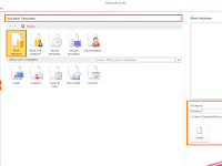 Bagaimana Cara Membuat Database Di Microsoft Access