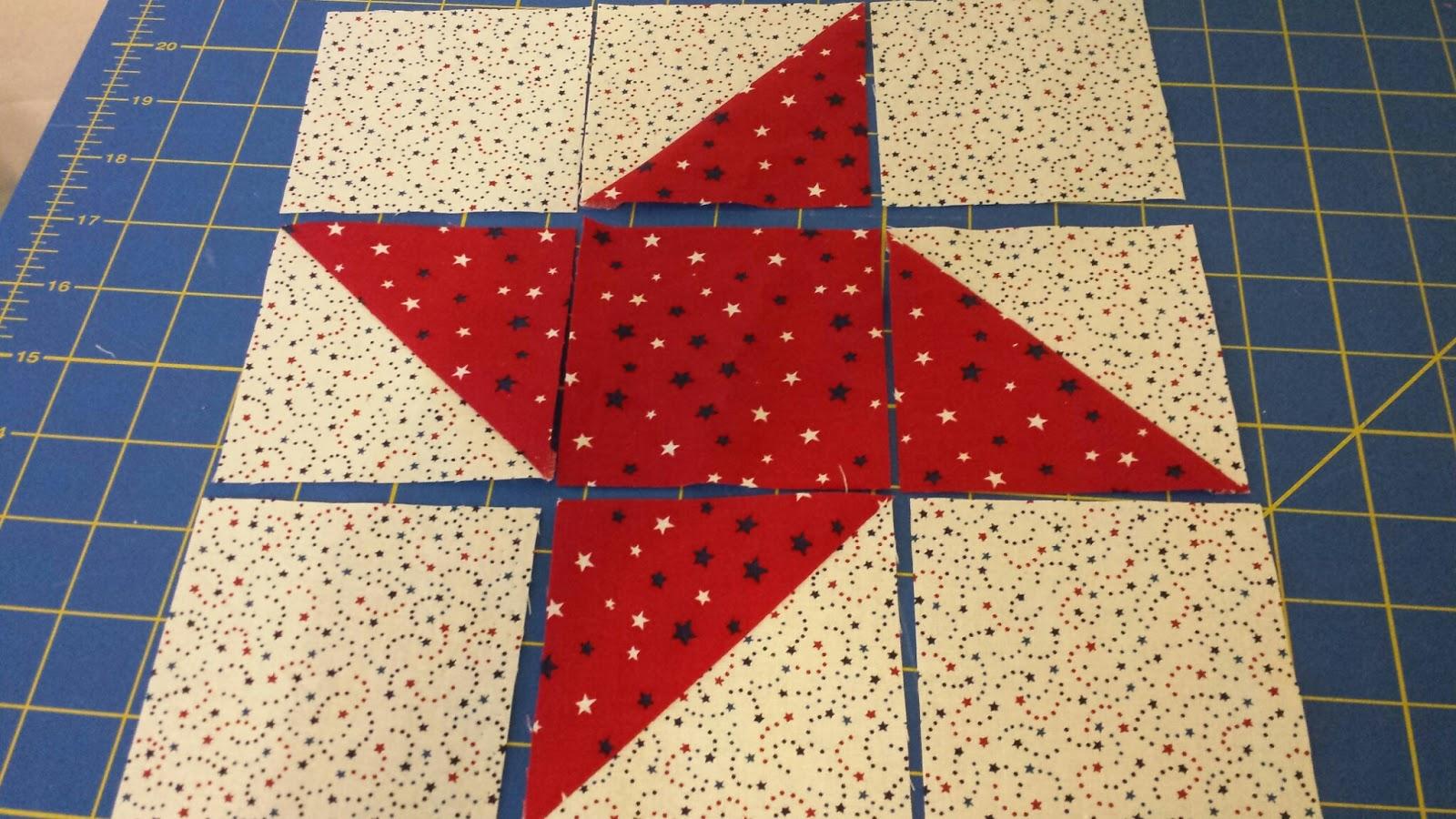 My Patchwork Quilt Friendship Star Quilt Pattern