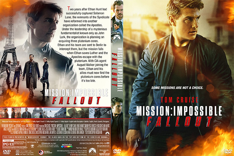Mission Impossible – Fallout (2018) 720p BrRip [Dual Audio] [Hindi 5.1+English]