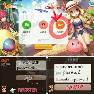 Cara registrasi login ragnarok RO Android Mobile APk