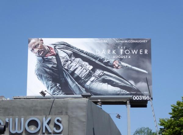 Dark Tower movie billboard
