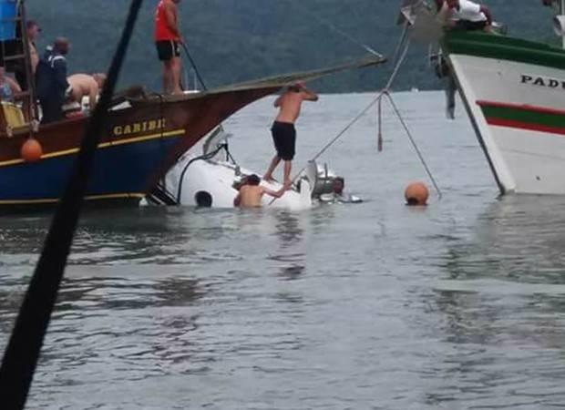 Corpo de Teori Zavascki é resgatado