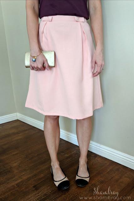 Pleated or Flouncy Skirt (Minimalist Wardrobe List: A 36 Piece Wardrobe)