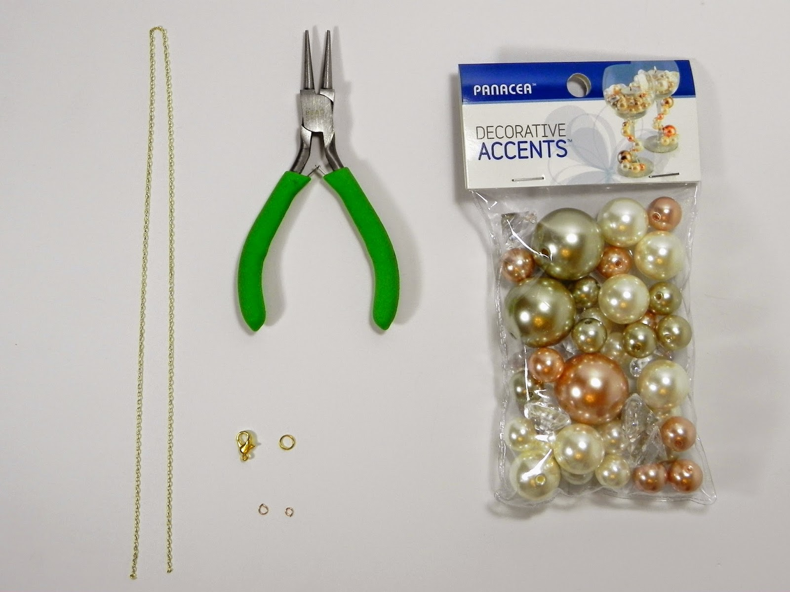 Smart N Snazzy Diy Oversized Double Pearl Necklace