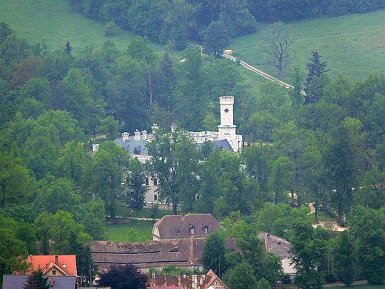 Zamek w Karpnikach.