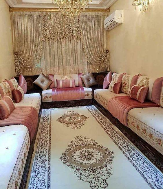 Le plus beau décor de salon marocain pour cette année ...