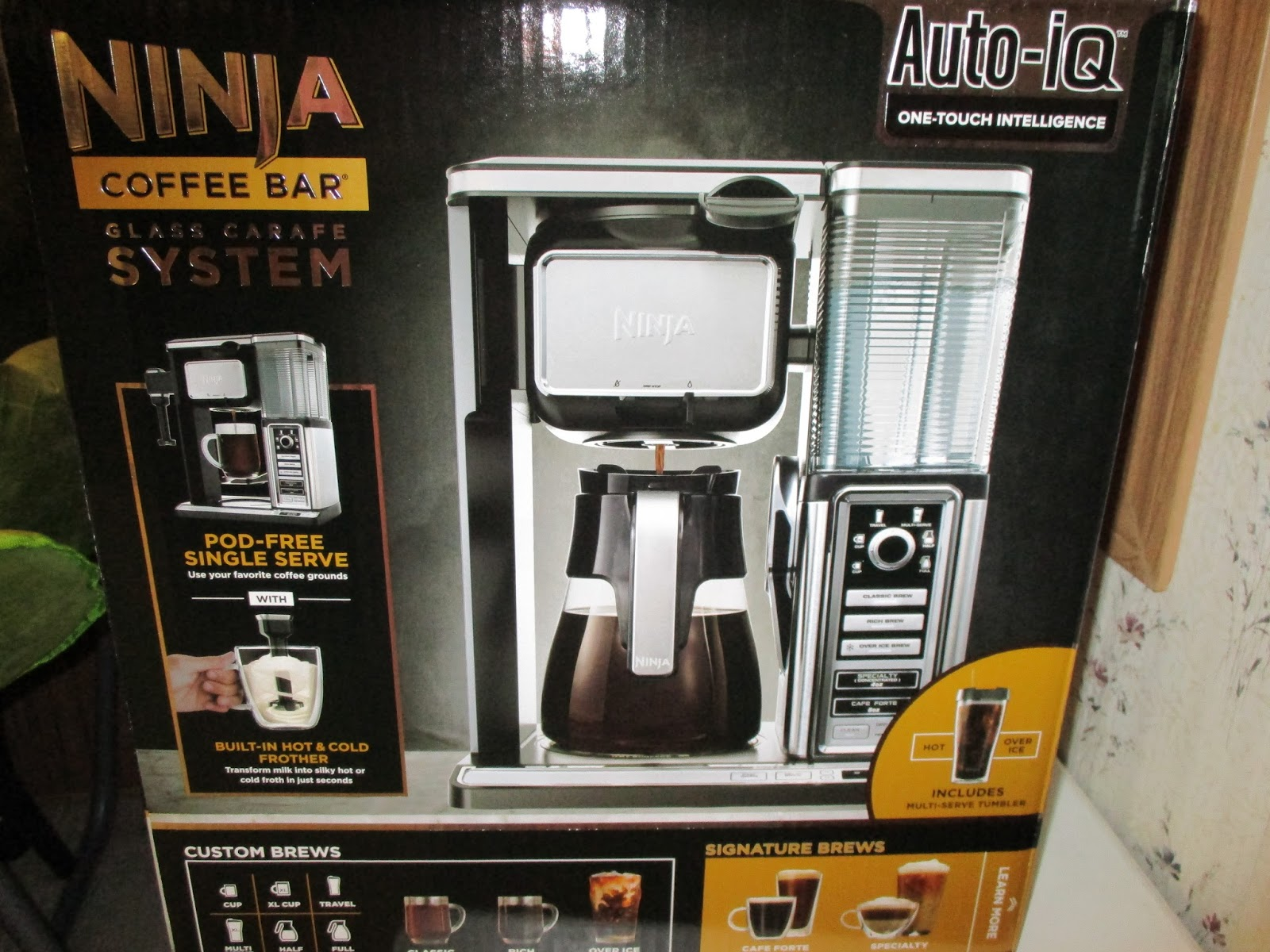 Missys Product Reviews : Ninja Coffee Bar Single Serve ...