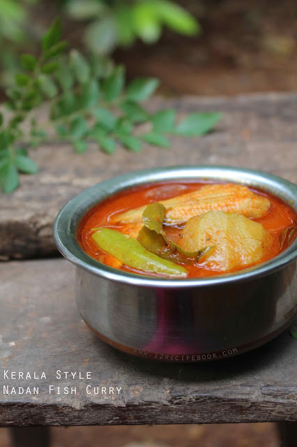 Kerala Style Red Fish Curry with Mangoes