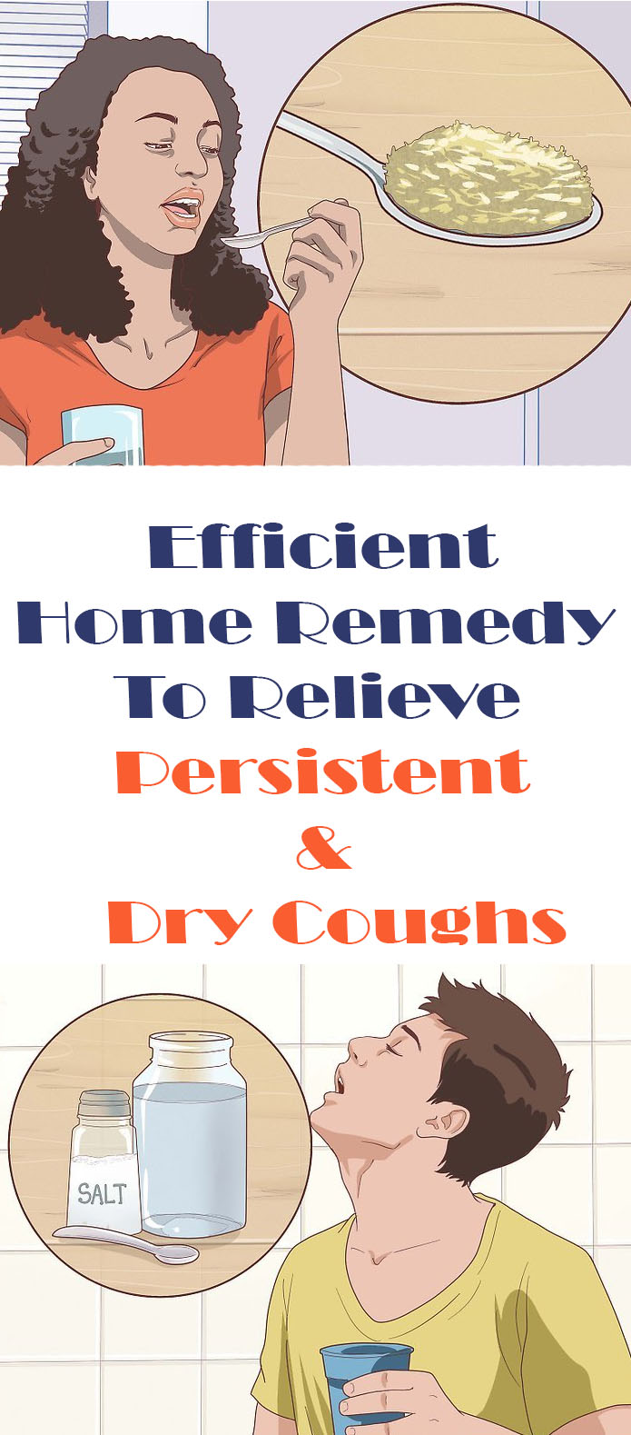 Efficient Home Remedy To Relieve Persistent & Dry Coughs