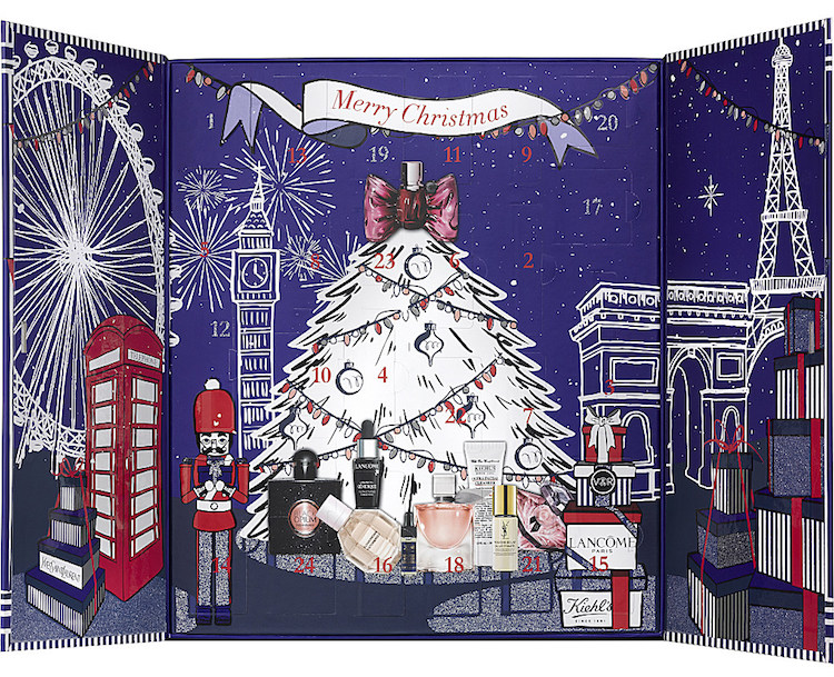 contents and spoilers of the Selfridges Luxury 24-Day Beauty Advent Calendar Holiday 2017.