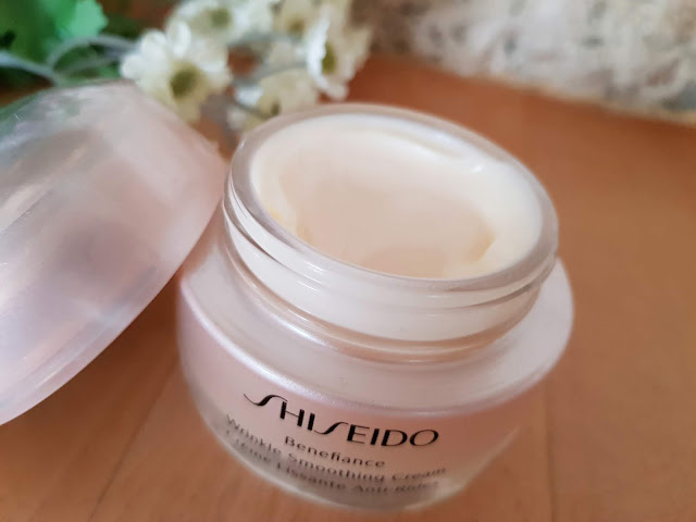 creme lissante anti rides Shiseido