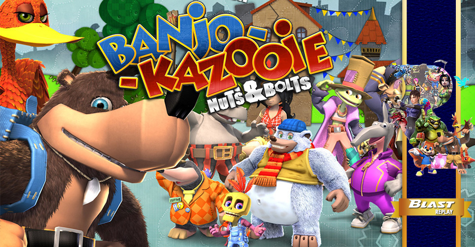 Blast Replay: Banjo-Kazooie: Nuts & Bolts (2008) - Xbox Blast