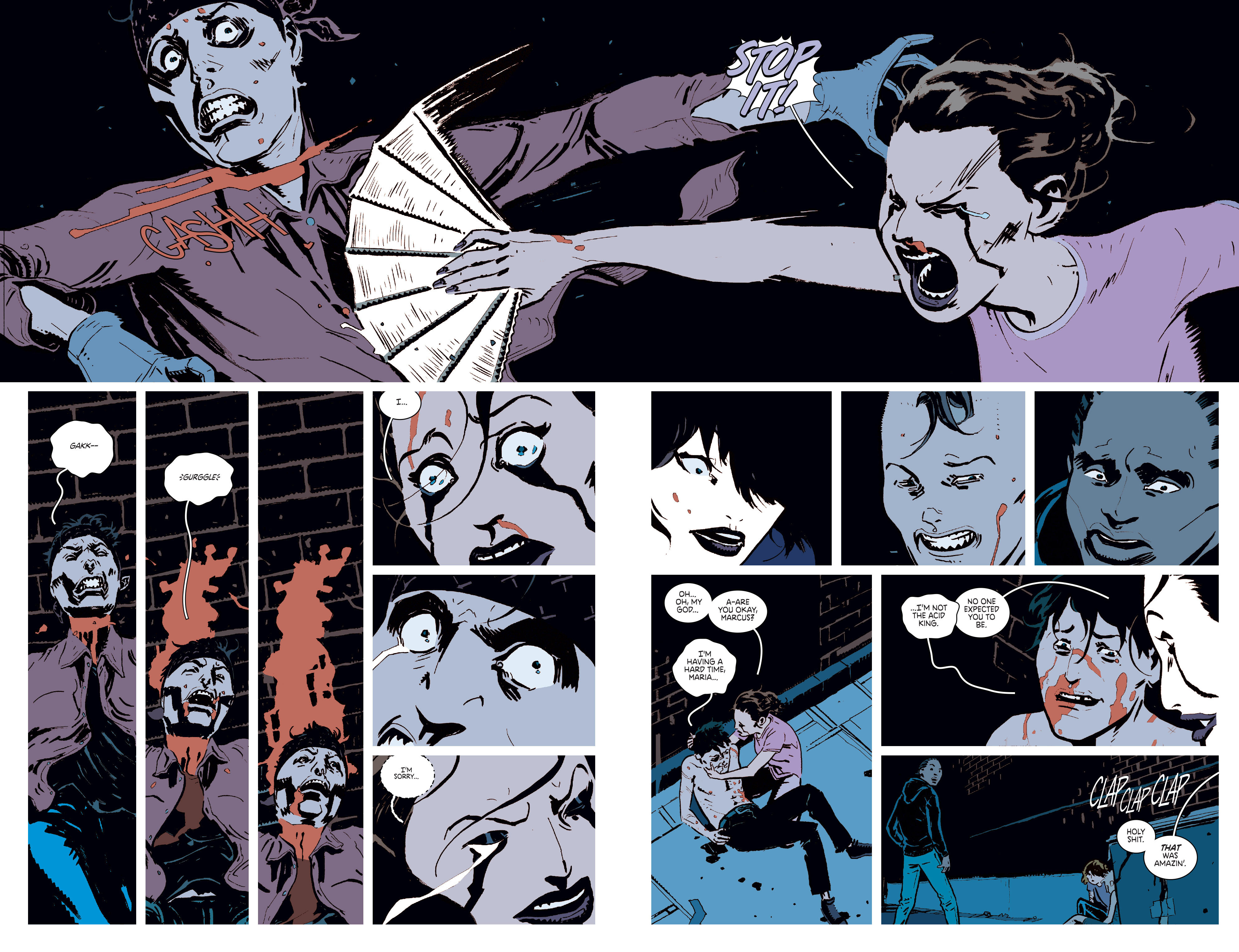 Read online Deadly Class comic -  Issue #6 - 17